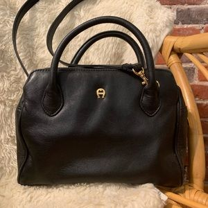 Etienne Aigner Leather Satchel